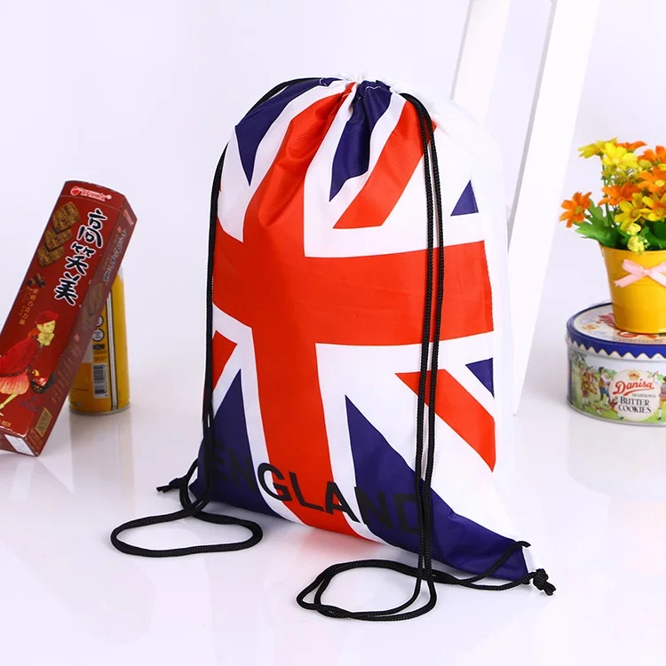 Waterproof reusable Custom OEM CAVS Full printing sublimation drawstring bag