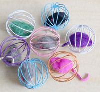 Eco-friendly Rolling Cage Remote Control Cat Toys