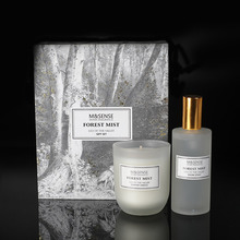 Forest Mist Scented Candle Gift Set With Colorful Box