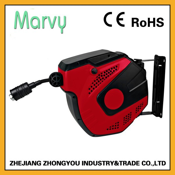 Air tool Auto retractable air spring hose reel 10m mini type