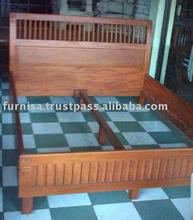 Rujen Drowen WOODEN Bed King Bed Room Furniture