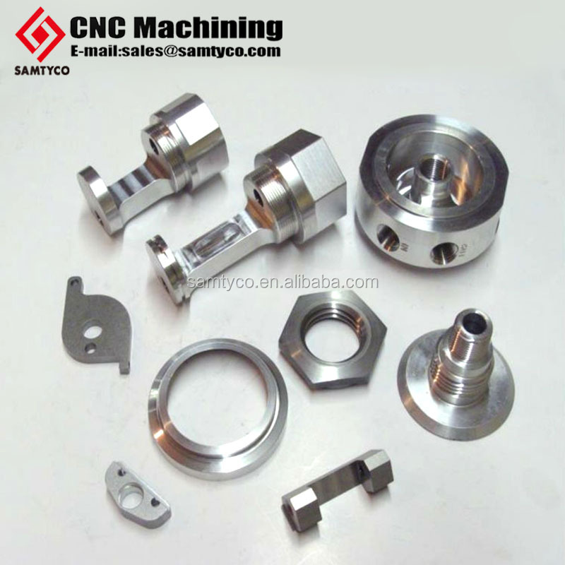 Chinese factory CNC milling parts high precision stainless steel surface treatment anodized finish