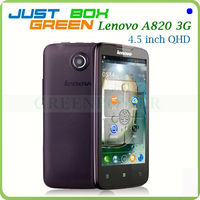 Dropship MTK6589 Quad-Core 4.5inch Lenovo A820 Android 4.1 cell phone support memory Card to32GB
