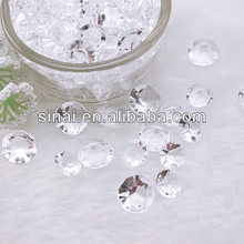 Factory Price Acrylic Diamond / Popular Very Shining Wedding Decoration