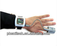 50FW--Color OLED Wrist wearable Pulse Oximeter+free Software