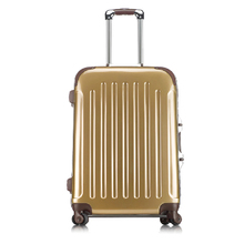 20 24 28 inch best trolley luggage suitcase gold
