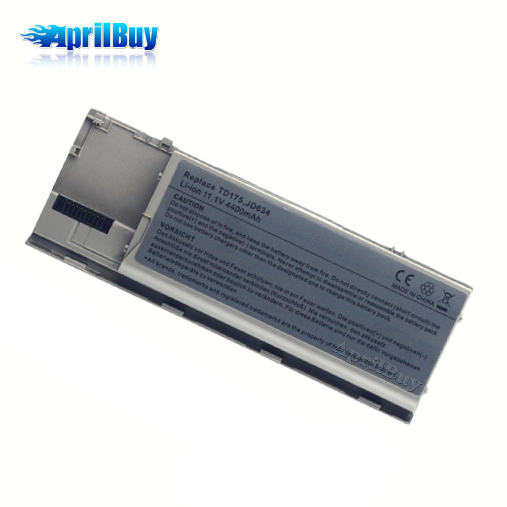 Laptop Spare Parts For Dell Latitude D630 11.1V 4400mAh Battery