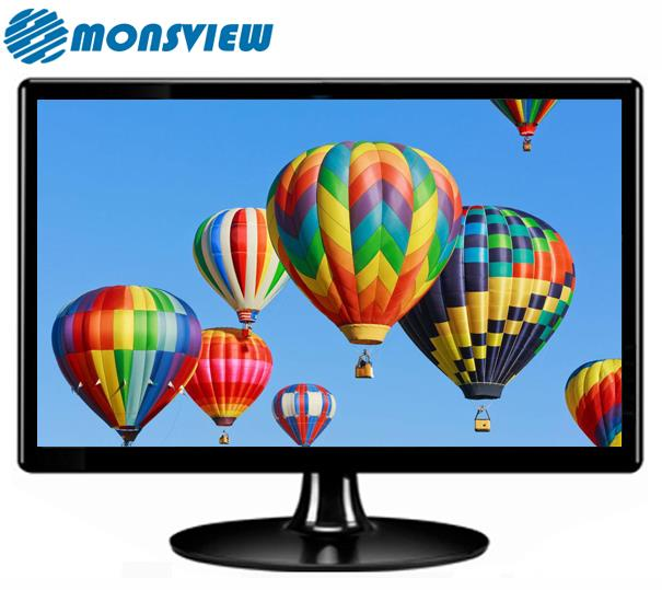 Flat screen 19 Inch LCD LED Desktop Computer Wide Screen Monitor