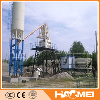 HZS50 world wildly ready mixed concrete mixing plant construction station