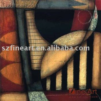 Abstract painting AB_Geometric_AO3_85