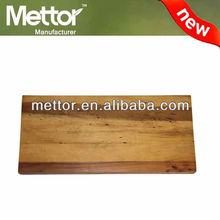 Mettor high quality wooden rectangle chopping board pe cutting board cutting board rack