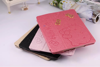 for ipad air hello kitty leather case, for ipad air hello kitty case, for ipad air case