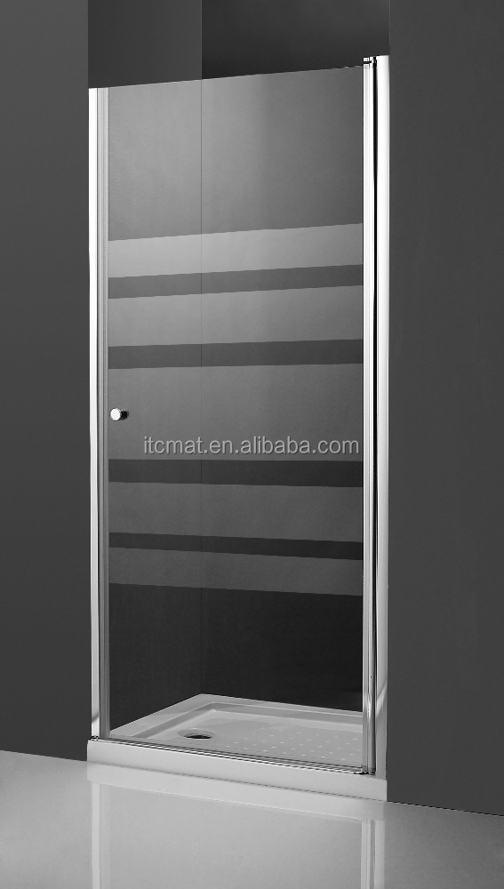 china product hot selling flat frameless glass shower doors