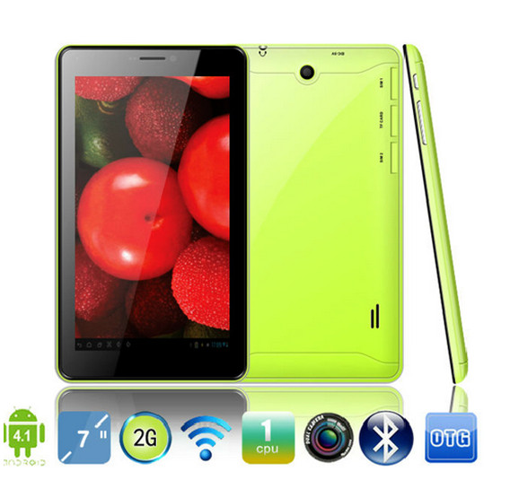 China Manufacturer Cheap 2G tablet with phone calling function 7inch Android 4.2 Tablet PC