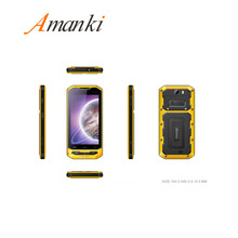Amanki Factory In stock ! 5.0 Inch 2GB 16GB 8MP 4200mah IP68 Waterproof Rugged Phone 4G LTE Smart Mobile Phone With CE