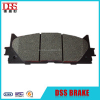China supplier ceramic brake pad for 2010 toyota camry