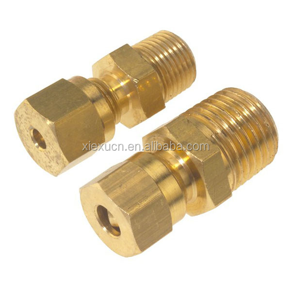 High quality brass pipe extension nipple