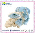Soft Huggable Plush Blue Bunny Blanket Safe Baby Blanket