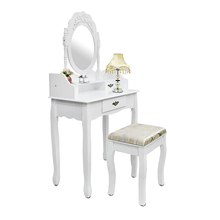 Home bedroom furniture dressing table with stool