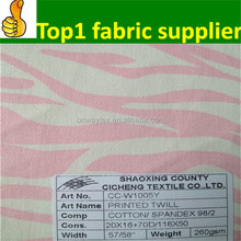 Make-to-order supplier china wholesale polyester cotton fabric twill & poplin