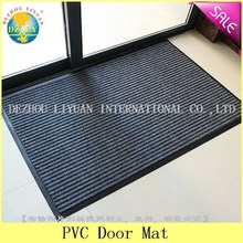 Branded export surplus home design entrance door anti slip pvc door mat - DZLY/door mat