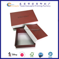 customized print logo paper gift box