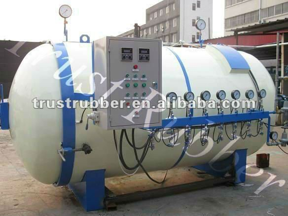 rubber tyre tire curing chamber