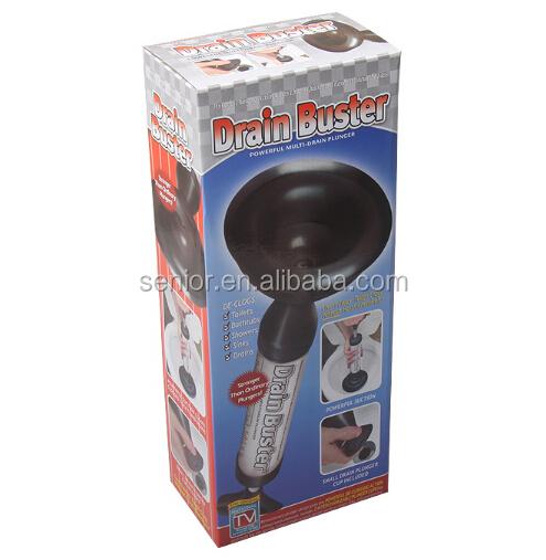 toilet buster plunger drain plunger buy drain buster plunger toilet plunger air powered toilet. Black Bedroom Furniture Sets. Home Design Ideas