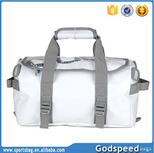 Waterproof 500D PVC duffel bag for gym
