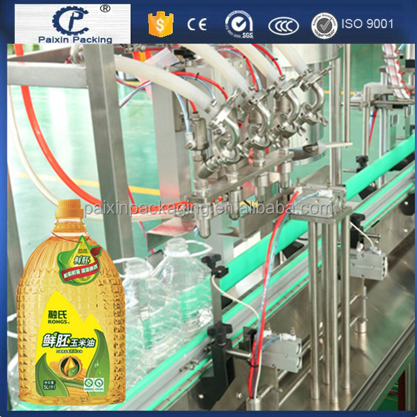 PE bottle, glass bottle olive oil/cooking oil filling machine Electric Driven Type
