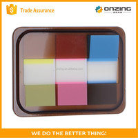 Colorful plastic transparent sticky note page marker PET index tabs