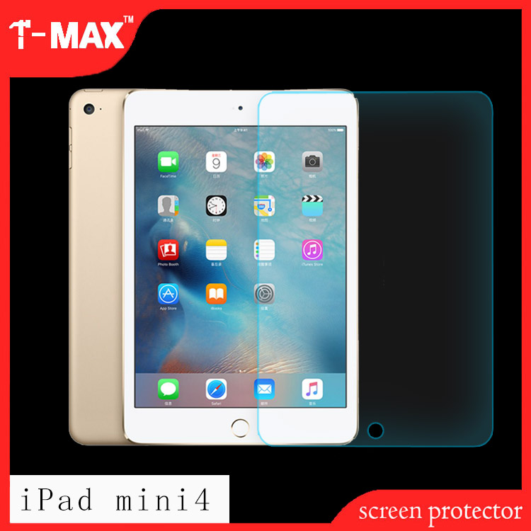 2.5D explosion-proof anti-scratch anti-fingerprint eco slim tablet tempered glass screen protector For iPad tablet mini 4