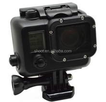 Pro Private mould Cool for GoPro4/3+/3 Dark Waterproof Housing with Bracket for GoPro Hero 4/3+/3