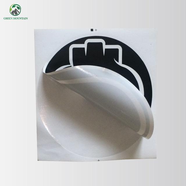 Custom printing easy peel paper fragile sticker for advertisement