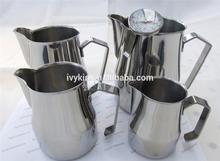 Professional mini ceramic milk jug measuring graduates