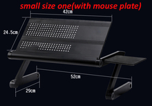 Multi Functional foldable laptop table stand notebook Desk mount with mouse pad laptop stand computer holder