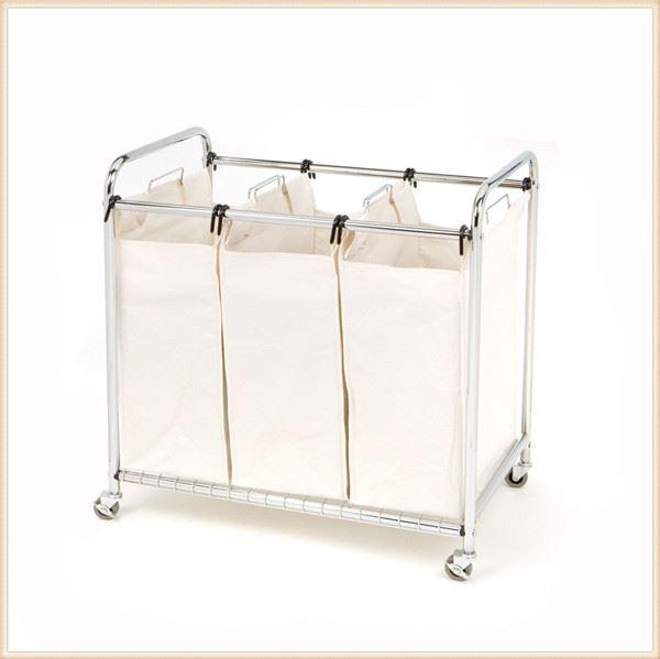 Laundry Clothes Bag Sorter Hamper Storage Folding Laundry