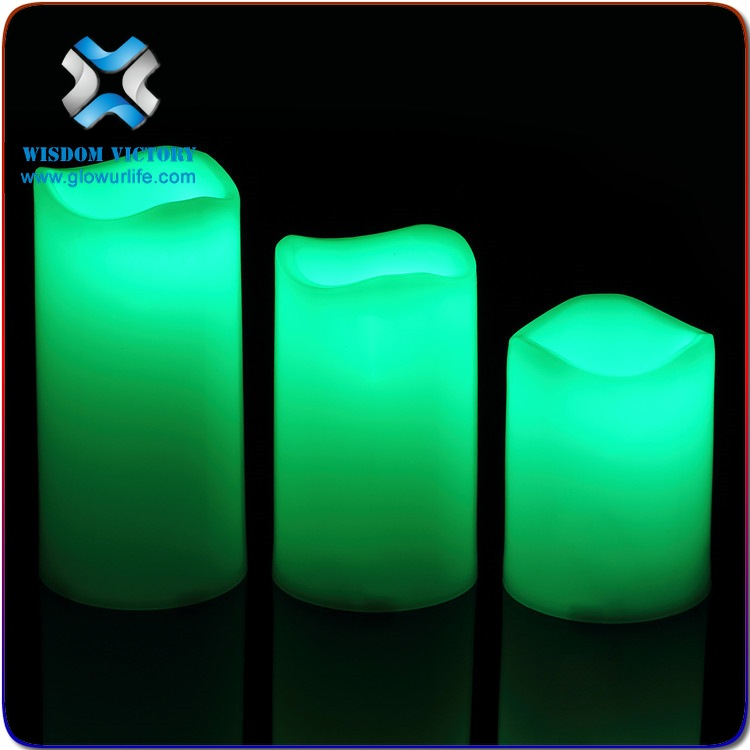 Wisdom Victory Rechargeable LED candle Light Tealights Candles Yellow with Remote Control Holder Charger Flickering Flameless
