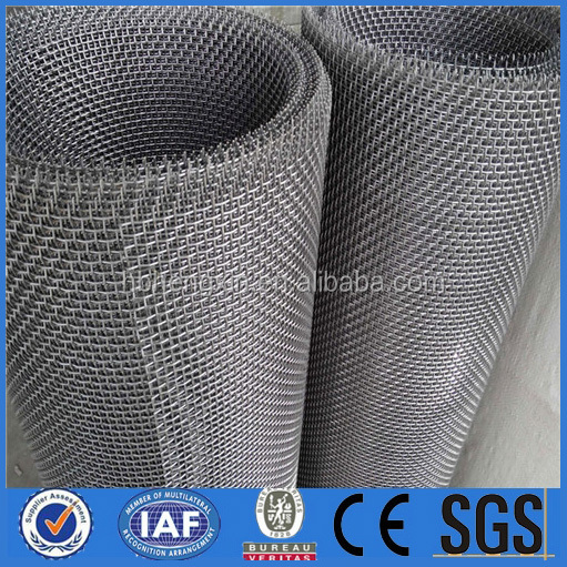 High Tensile Strength spring wire crimped wire mesh for bed