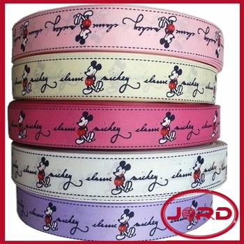 mickey mouse grosgrain ribbon