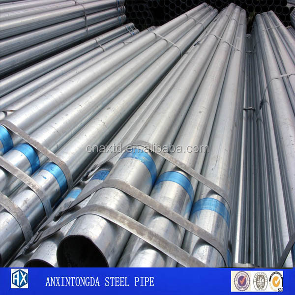 Liquidation Goods Galvanized Steel Pipe For Sewage Pipes