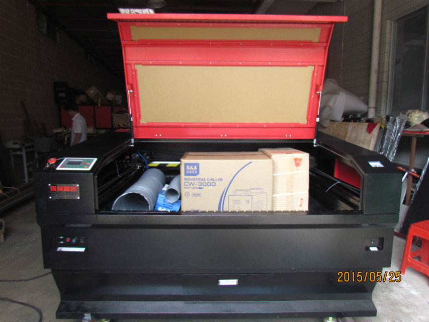 Guangzhou hot sale Laser Engraving Machine ruidi 1390 with 80w 100w 120w 150w Tube