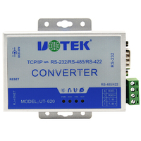 TCP/IP to RS232/RS485/RS422 Converter Ethernet to Serial Device Server UT-620