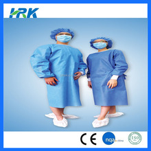 Disposable hospital clothers price pattern of medical gown
