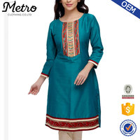 India designer fancy velvet handmade silk kurta designs for women
