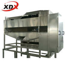 Potato washing peeling chips making machine