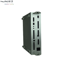 small extruded aluminum enclosure for electronic equipment with wall mount
