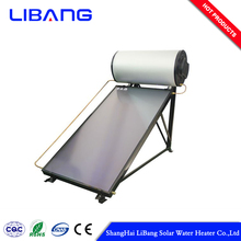 Flat plate solar water heater types villa pressure tube in collector vacuum u-tupe