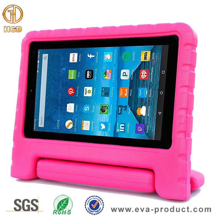 Children Safe Handle Stand Case For Amazon Kindle Fire 7 inch Display Tablet