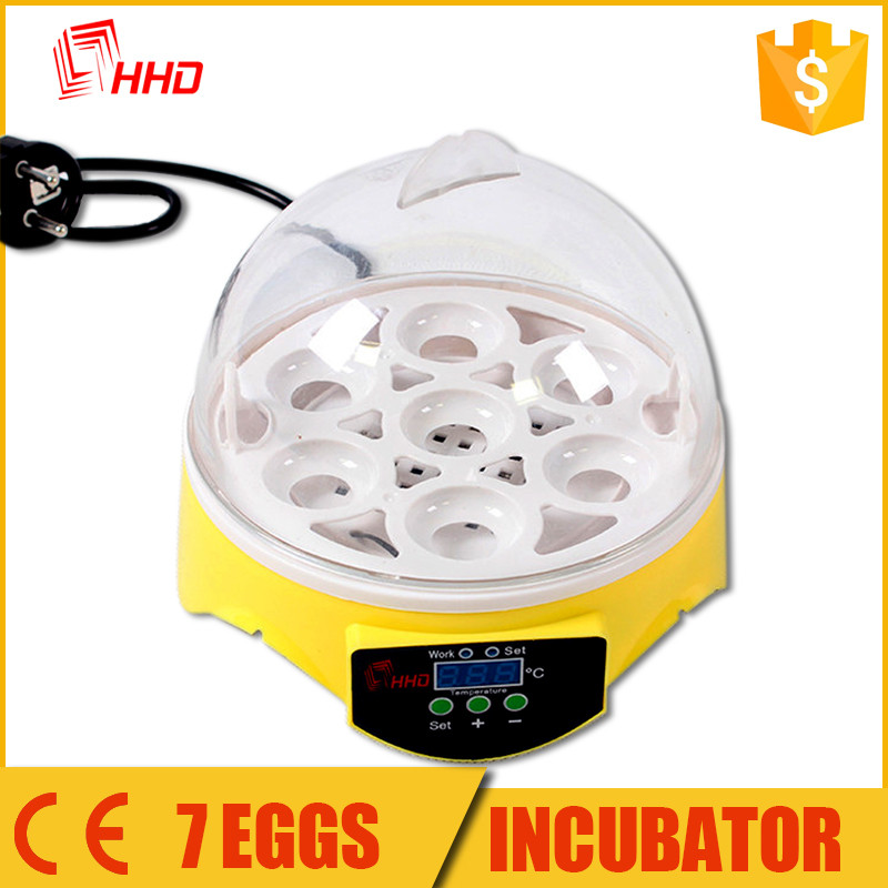 Good price automatic mini 7 eggs poultry incubator machine /rcom pro incubator for sale YZ9-7